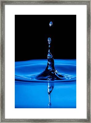 Framed Print featuring the photograph Reaching Out by Steven Santamour