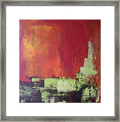 Reaching Up, Abstract  Framed Print