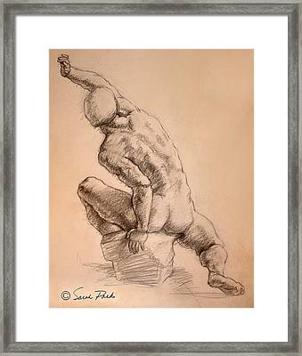 Reaching Up Framed Print by Sarah Parks