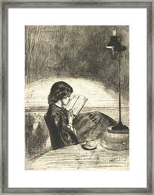 Reading 1859 Framed Print by Padre Art