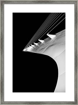 Reading A Sundial At Midnight Framed Print by Alex Lapidus