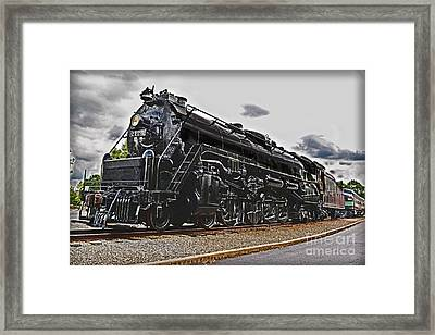 Reading Company 2124 Framed Print by Gary Keesler