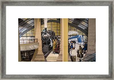 Reading Terminal Framed Print
