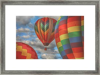Readington Balloon Fest Media Launch 13 Framed Print