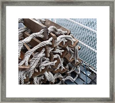 Ready And Waiting Framed Print by Cheryl Hoyle