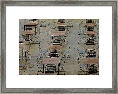 Ready And Waiting Framed Print
