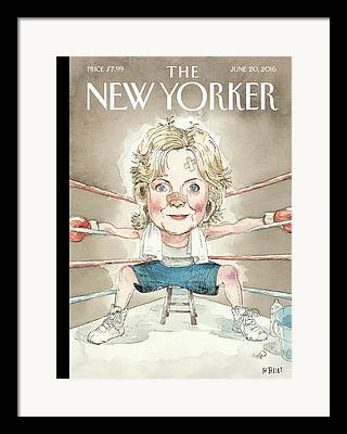 Hillary Clinton Framed Prints