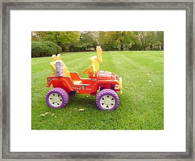 Ready For A Ride Framed Print by Vadim Levin