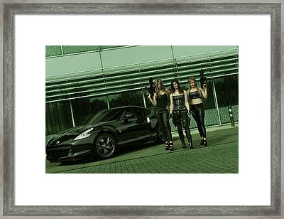 Ready For Action Framed Print by JT Photography