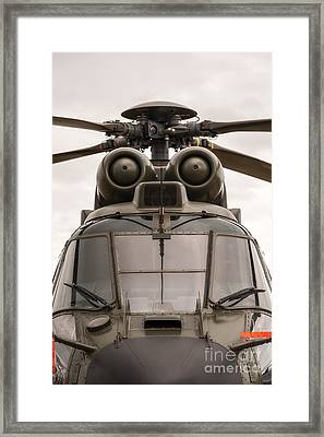 Ready For Action Framed Print by Ray Warren