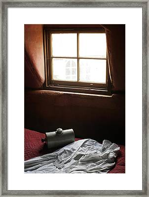 Ready For Bed Framed Print by Stephen Norris