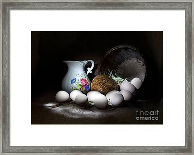 Ready For Breakfast Framed Print