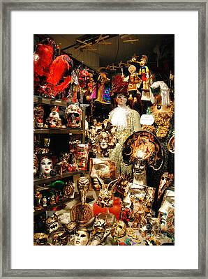Ready For Carnival  Framed Print by Jacqueline M Lewis