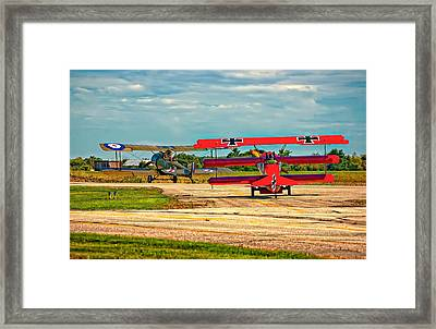 Ready For Combat Framed Print by Steve Harrington