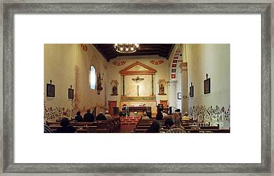 Ready For Mass Framed Print by Methune Hively