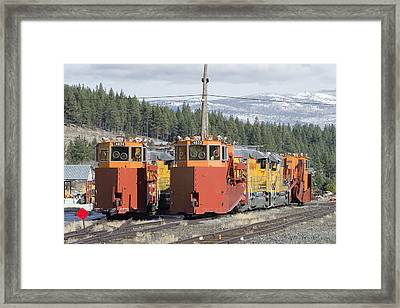 Ready For More Snow At Donner Pass Framed Print by Jim Thompson