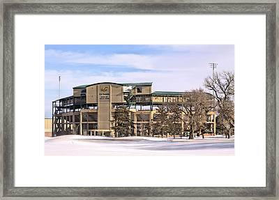 Ready For Spring Training Framed Print