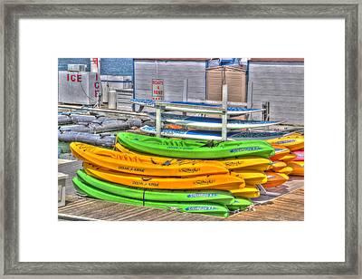 Ready For Summer Framed Print by Heidi Smith