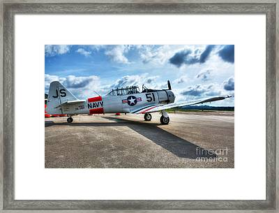 Ready For Takeoff 2 Framed Print