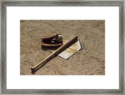 Ready For The Big Leagues Framed Print by Bill Cannon