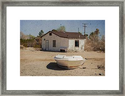 Ready For The Flood Framed Print by Jim Thompson