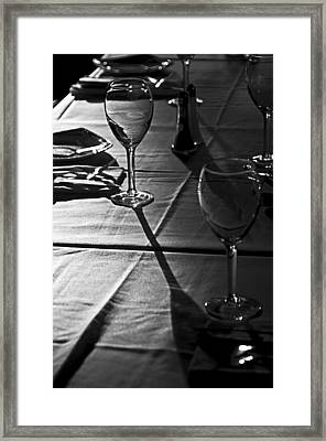 Ready For The Next Party Framed Print