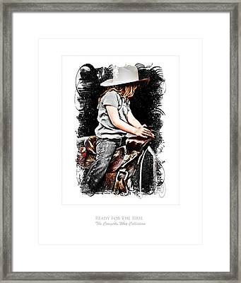 Ready For The Ride Framed Print
