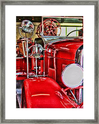 Ready For The Ring By Diana Sainz Framed Print