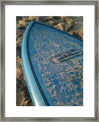 Ready For Waves Framed Print by M West