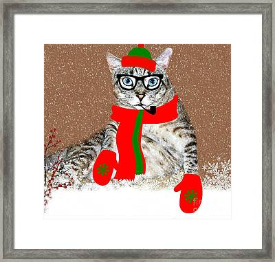 Ready For Winter Framed Print