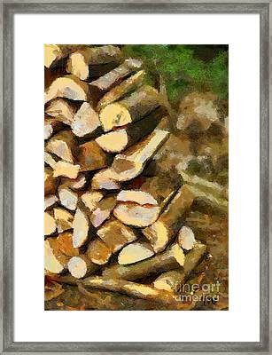 Ready For Winter Framed Print by Dragica  Micki Fortuna