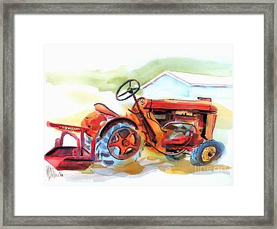 Ready For Work  Framed Print by Kip DeVore