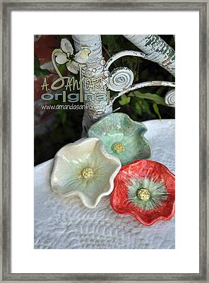 Ready Get Set Framed Print by Amanda  Sanford