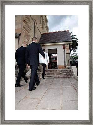 Ready Set Go Framed Print by Carole Hinding