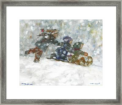 Ready Set Go Framed Print by David Dossett