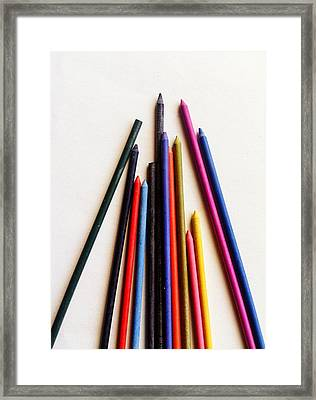 Ready To Draw Framed Print