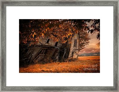 Ready To Fall Framed Print by Danielle Denham
