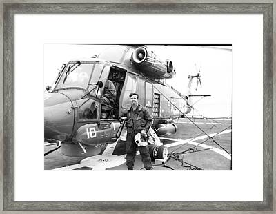 Ready To Fly Framed Print by Thomas D McManus
