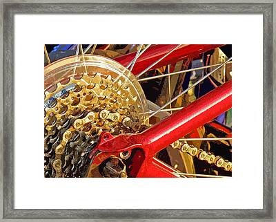 Ready To Go Framed Print