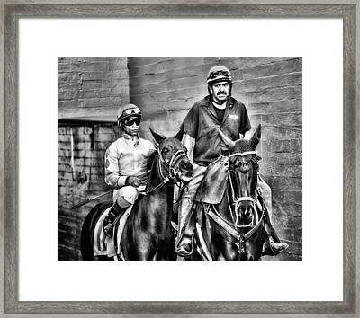 Ready To Race Framed Print by Camille Lopez