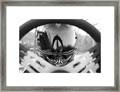 Ready To Race Framed Print by Thomas Fouch