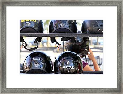 Ready To Race Framed Print by Valentino Visentini