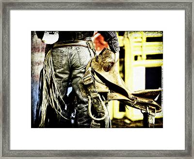 Ready To Ride Framed Print by Lincoln Rogers