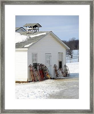 Framed Print featuring the photograph Ready To Ride by Linda Mishler