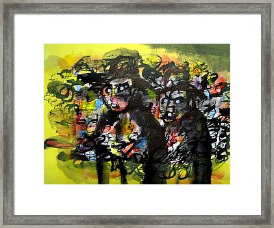 Ready To Rob Framed Print by Aquira Kusume