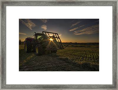 Ready To Roll Framed Print by Mark Kiver