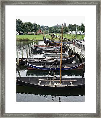 Ready To Row Framed Print
