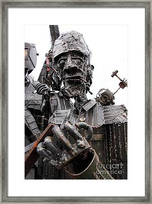 Ready To Rumble Framed Print by Rick Kuperberg Sr