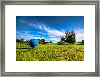 Ready To Tee Off Framed Print