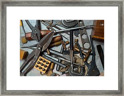 Ready To Work 1 Framed Print